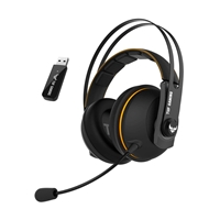Asus TUF Gaming H7 wireless yellow - Auriculares