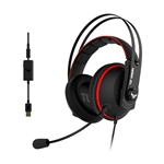 Asus TUF Gaming H7 red - Auriculares