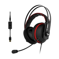 Asus TUF Gaming H7 red  Auriculares