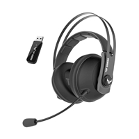 Asus TUF Gaming H7 wireless gun metal - Auriculares