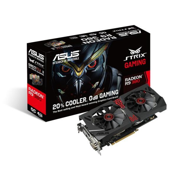 Asus Radeon Strix R9 380 DC2 OC 4GB DDR5 – Gráfica
