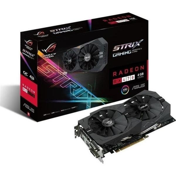Asus Strix Radeon RX470 OC 4GB GDDR5  Gráfica