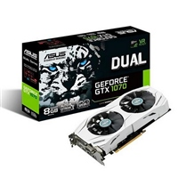 Asus Nvidia GeForce Dual GTX 1070 8GB – Gráfica