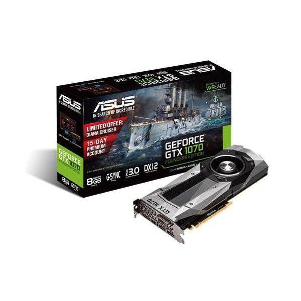 Asus Nvidia GeForce GTX1070 F.E. 8GB – Gráfica