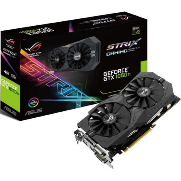 Asus Nvidia Geforce Strix GTX1050 Ti  4GB Gaming  – Gráfica