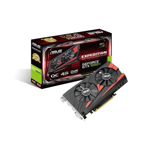 Asus Nvidia GeForce GTX 1050 TI Expedition OC 4GB – Gráfica
