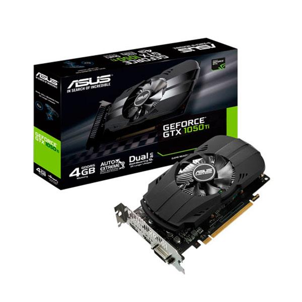 Asus NVIDIA GeForce GTX 1050 Ti  4 GB – Tarjeta Gráfica