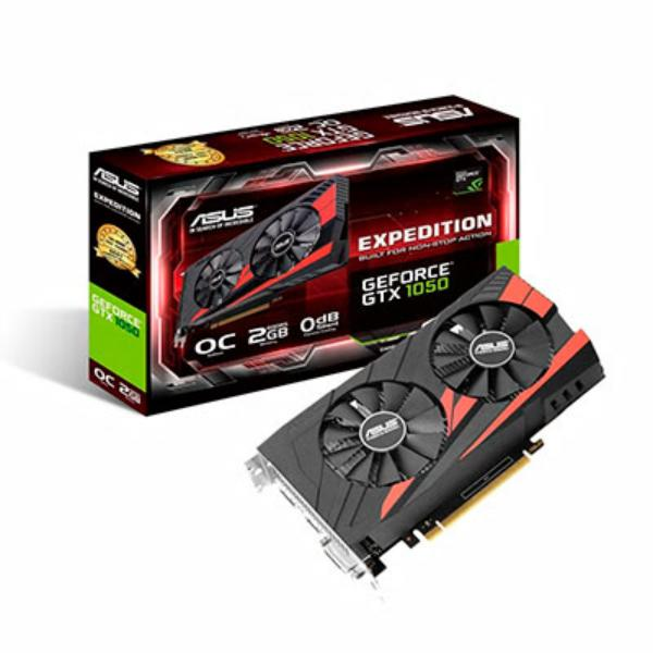Asus Nvidia GeForce GTX 1050 Expedition OC 2GB  Gráfica