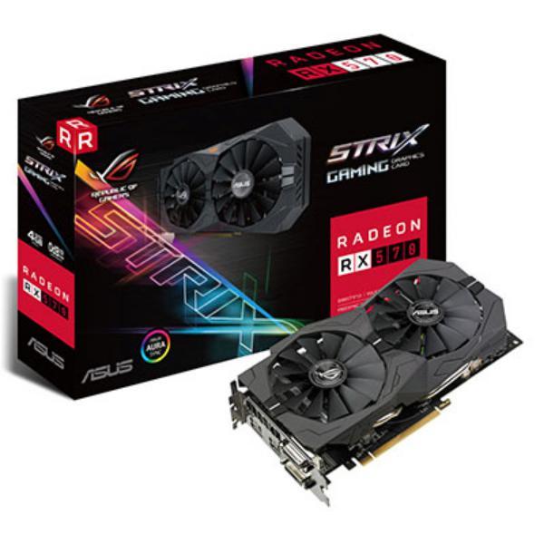 Asus AMD Radeon RX 570 STRIX 4G Gaming 4GB – Gráfica
