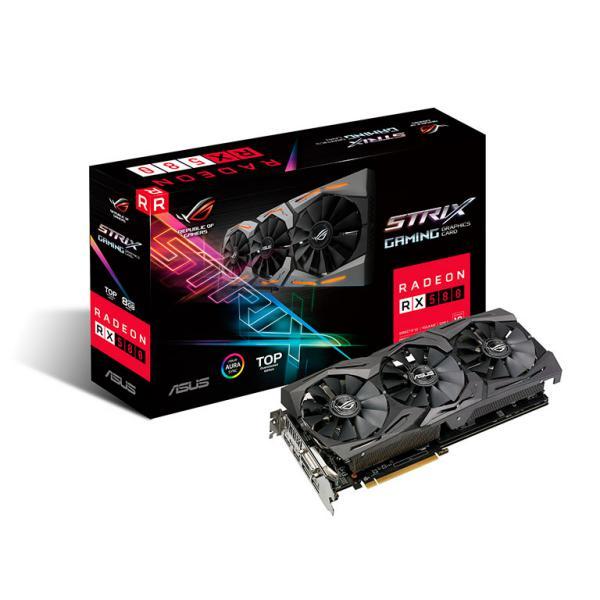 ASUS AMD Radeon RX 580 STRIX T8G Gaming 8GB – Gráfica