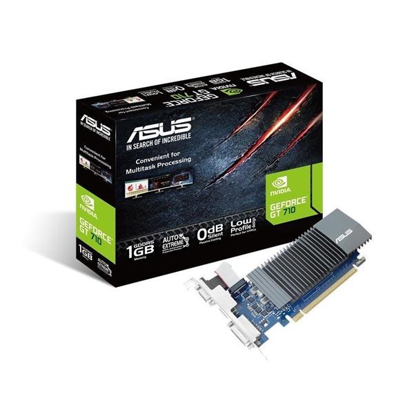 Asus Nvidia GeForce GT710 Silent 1GB GDDR5  Grfica