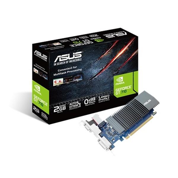 Asus Nvidia GeForce GT710 Silent 2B GDDR5 - Gráfica