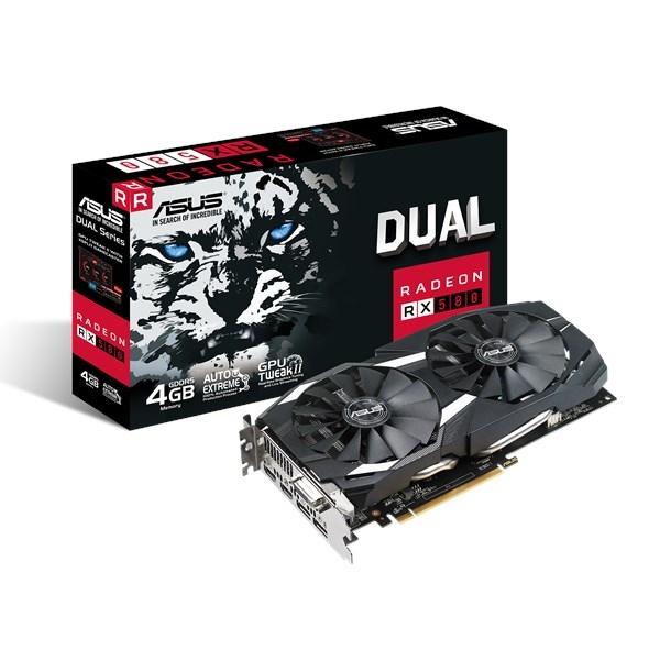 Asus AMD Radeon RX580 Dual 4GB - Gráfica