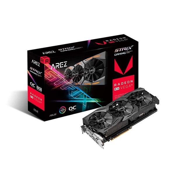 Asus Arez Strix RX Vega 56 OC 8GB Gaming  Tarjeta Gráfica