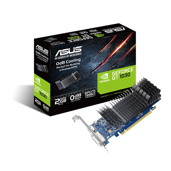 Asus GeForce GT1030 SL BRK 2GB GD4 - Gráfica