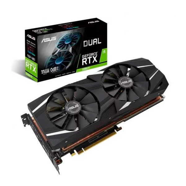 Asus Dual GeForce RTX 2080 Ti OC Edition 11GB - Gráfica