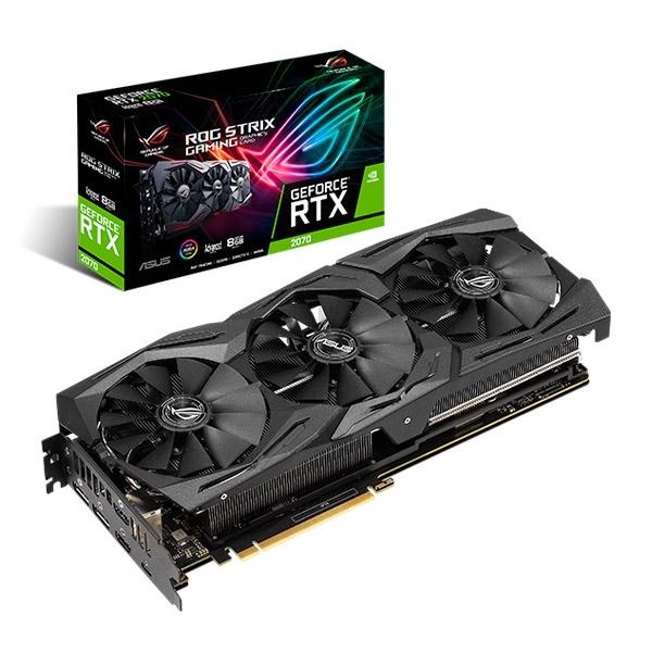 Asus ROG Nvidia GeForce RTX 2070 Strix Advanced 8GB - VGA