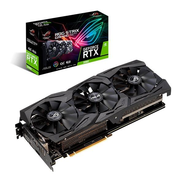 Asus ROG Nvidia GeForce RTX 2060 Strix OC 6GB Gaming - VGA