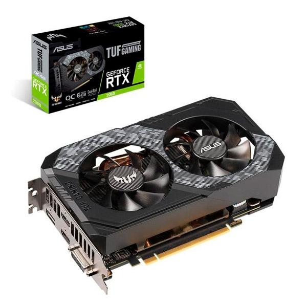 Asus TUF Gaming GeForce RTX 2060 OC 6GB - Gráfica