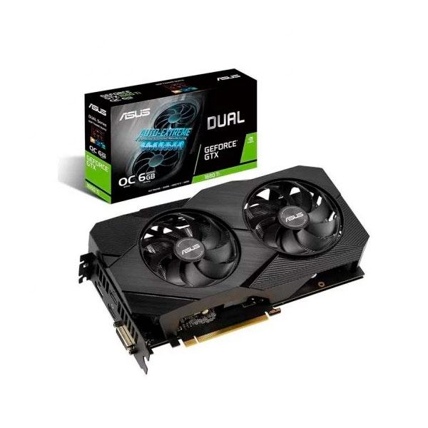 Asus Dual GeForce GTX 1660 Ti OC 6GB EVO  Gráfica