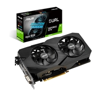 Asus Dual GeForce GTX 1660 Ti Advanced EVO 6GB - Gráfica