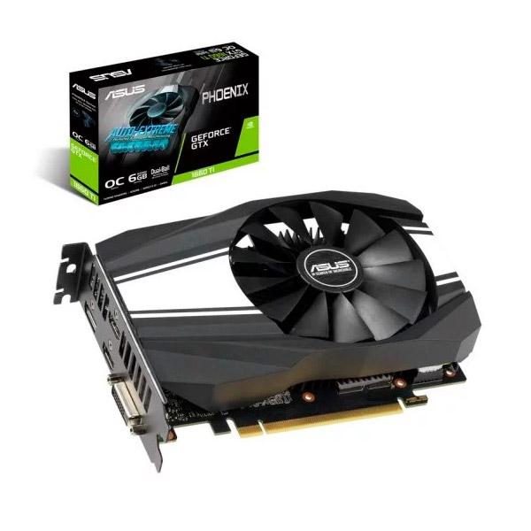 Asus Nvidia GeForce GTX 1660 Ti Phoenix OC 6GB - Gráfica