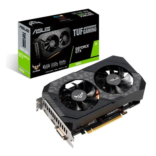 Asus TUF Gaming GeForce GTX 1660 6GB - Tarjeta Gráfica