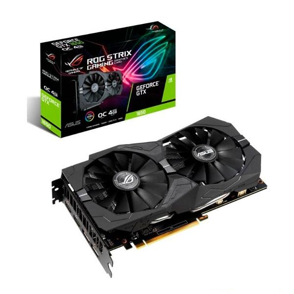 Asus Strix GeForce GTX 1650 4GB OC - Tarjeta Gráfica
