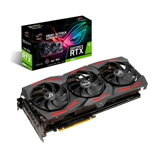 Asus ROG Strix GeForce RTX 2060 Advanced Evo Gaming 6G  VGA