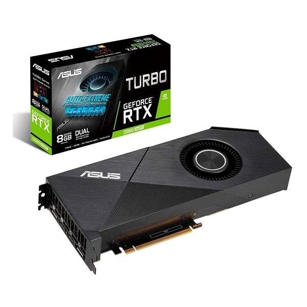 Asus Turbo GeForce RTX 2060 Super 8GB Evo - Tarjeta Gráfica