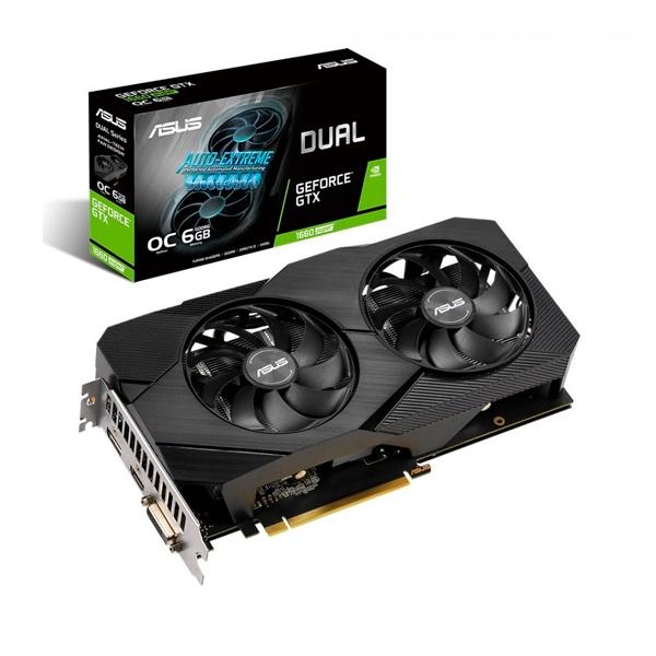 Asus Dual GeForce GTX 1660 Super 6GB Evo  Gráfica