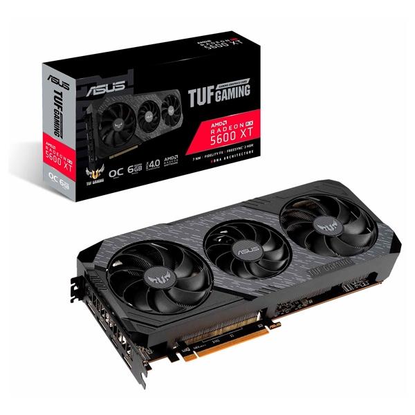 Asus TUF 3 AMD RX 5600 XT OC 6GB Evo Gaming - Gráfica