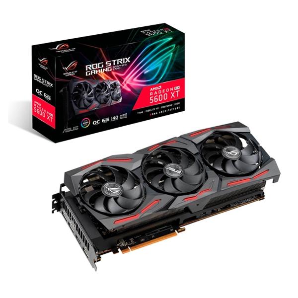 Asus ROG Strix RX 5600 XT OC 6GB GB Gaming - Gráfica