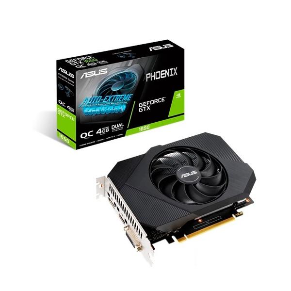 Asus Phoenix GeForce GTX1650 OC 4GB GD6 V1  Gráfica