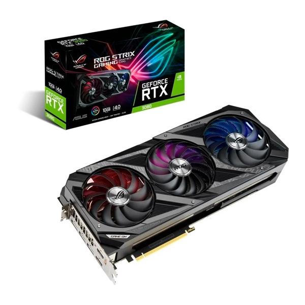 Asus ROG Strix Gaming GeForce RTX 3080 OC 10GB  Gráfica