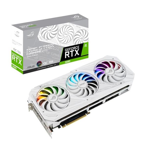Asus ROG Strix GeForce RTX3080 White 10GB GDDR6X  Gráfica