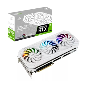 Asus ROG Strix GeForce RTX3070 OC White 8GB GD6  Gráfica