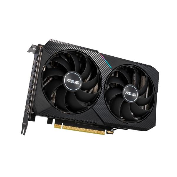 Asus Dual GeForce RTX3060 Ti OC Mini 8GB GD6  Grafíca