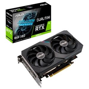 Asus Dual GeForce RTX3060 Ti Mini 8GB GD6  Grafca
