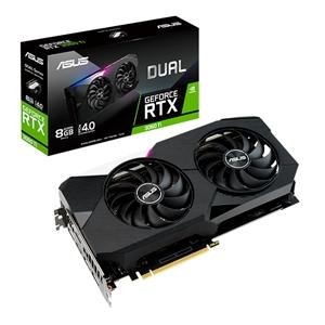 Asus Dual GeForce RTX3060 Ti 8GB GD6  Gráfica