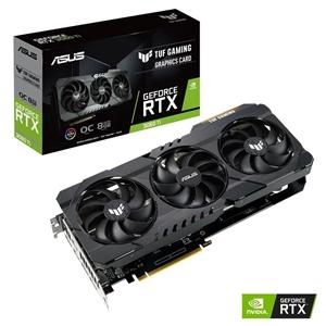 Asus TUF Gaming GeForce RTX3060 Ti OC 8GB GDDR6 LHR  Gráfica