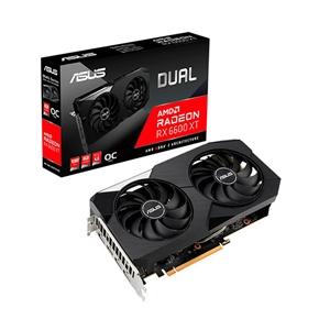 Asus Dual Radeon RX6600 XT OC 8GB GDDR6  Tarjeta Gráfica AMD