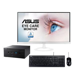 ASUS PN62BB5004MD  VZ239HEW  Teclado y ratón U2000 Pack