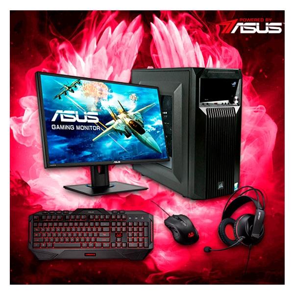 Kit Powered By Asus Barbarian 6  Accesorios Premium