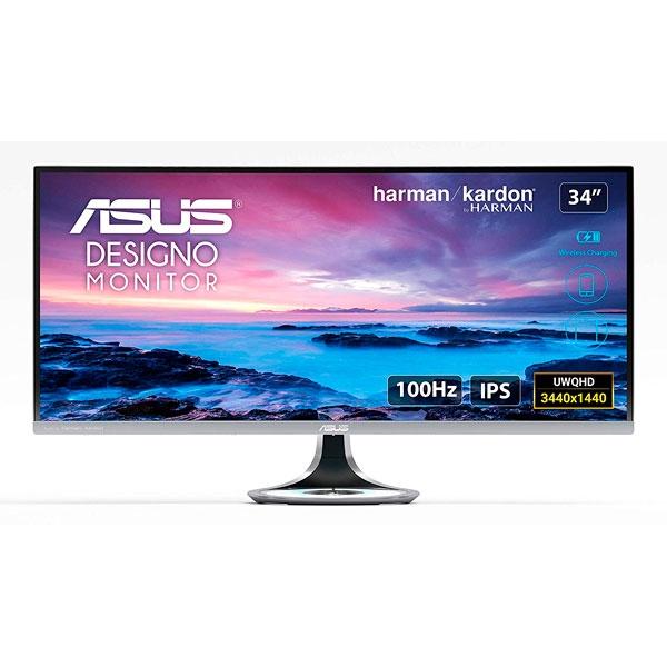 ASUS MX34VQ 34 UWQHD 3440X1440 Curvo HDMIDP Monitor