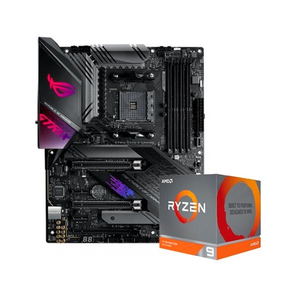 ROG STRIX X570E GAMING  3900XT  Pack PB y CPU