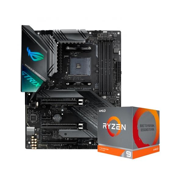 ROG STRIX X570-F GAMING + 3900XT - Pack PB y CPU