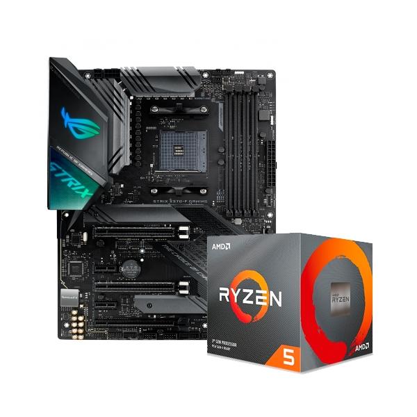 ROG STRIX X570F GAMING  3600XT  Pack PB y CPU