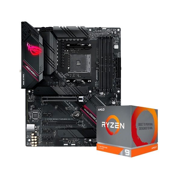 ROG STRIX B550-F GAMING (WI-FI) + 3900XT - Pack PB y CPU