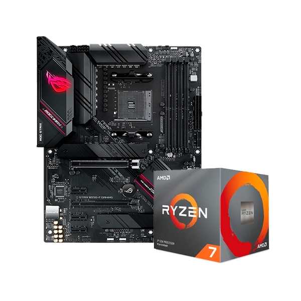 ROG STRIX B550F GAMING  3800XT  Pack PB y CPU